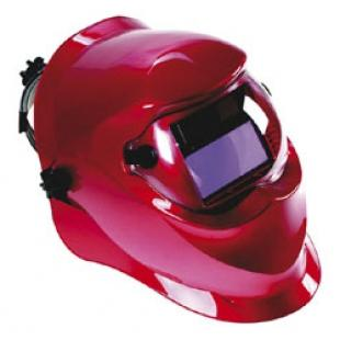 What does the welding mask protect?